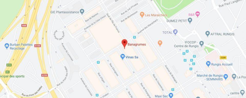 Banagrumes google maps