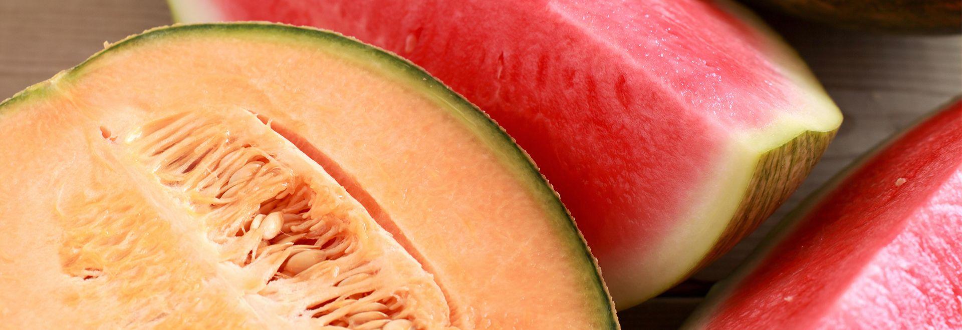 Melons et pasteques