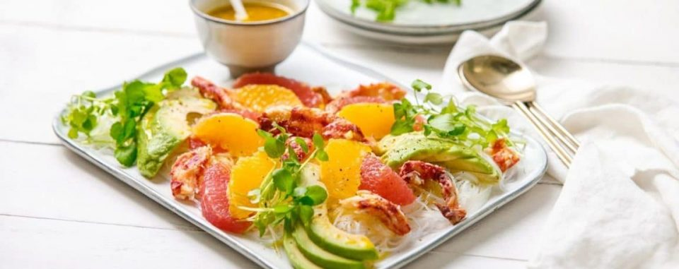 Salade dagrumes avocat et chair de crabe 4 1152x457