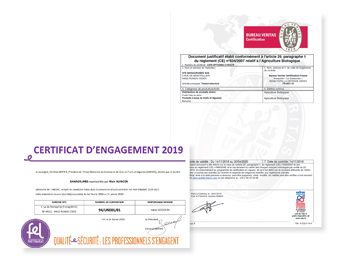 Certificats bagrumes 2020