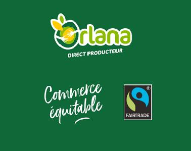 Lancement de la banane de Colombie Orlana « Commerce équitable »